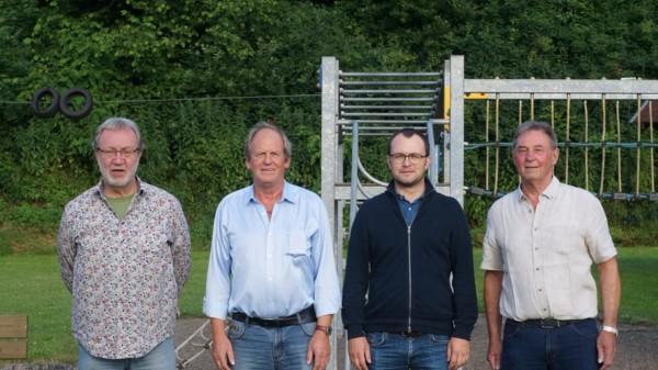Alfred Steckel, Arnold Sommer, Steffen Degenhardt, Klaus Kirchner